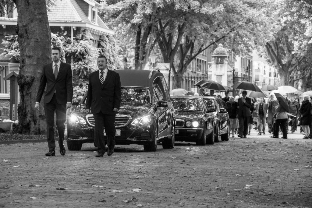 Begrafenis Rotterdam