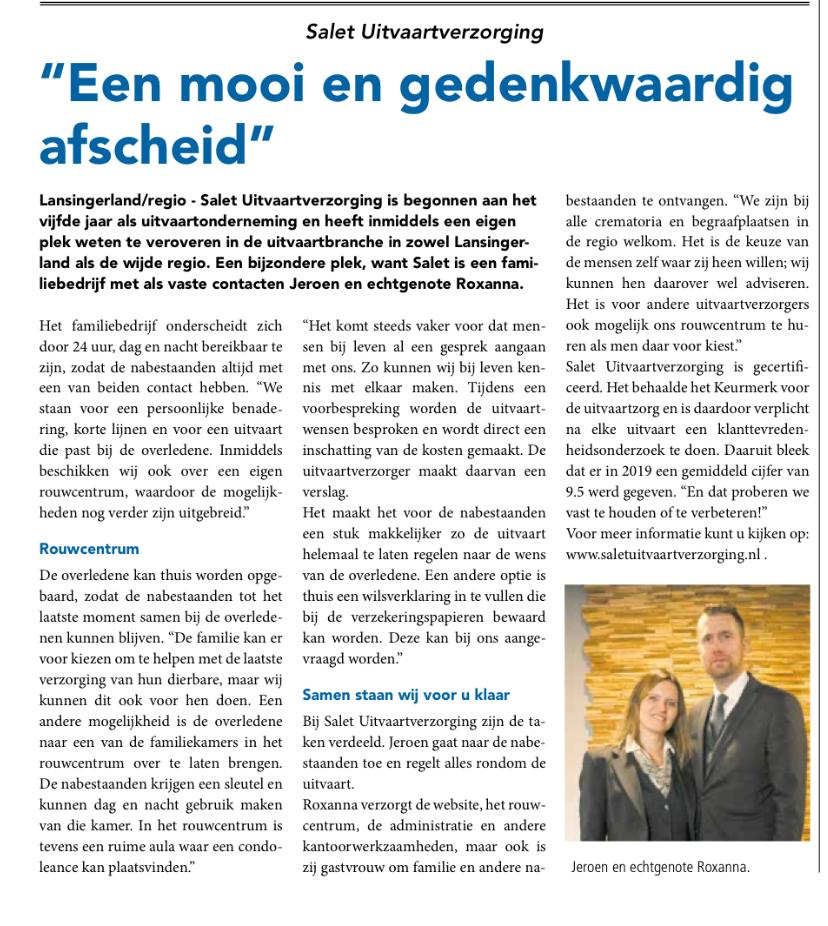 Interview in de Heraut